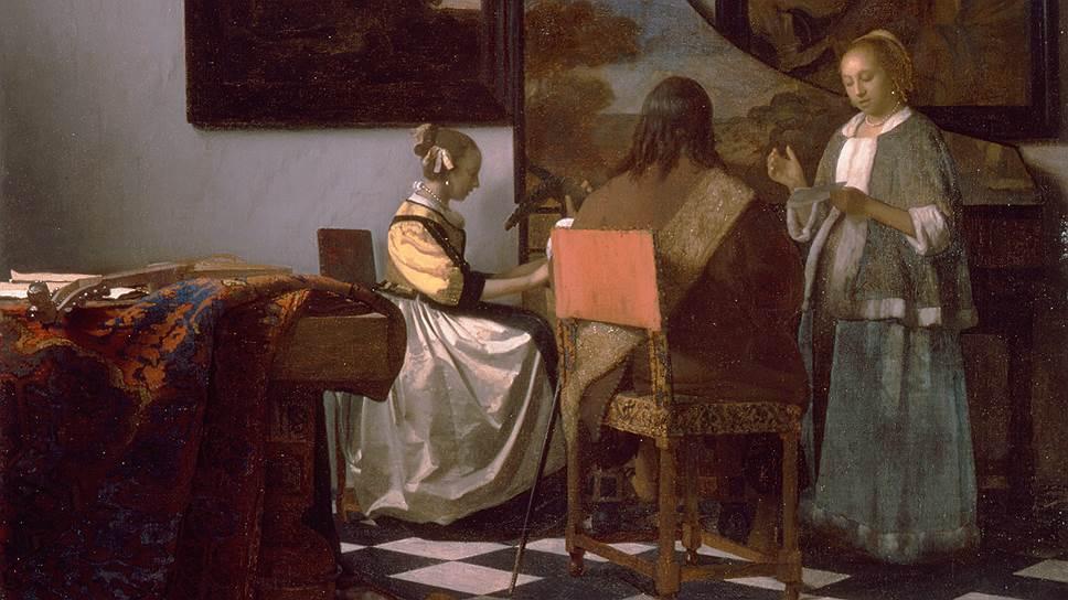"""Ограбление заняло у двух преступников 81 минуту. Они проникли в музей под видом полицейских, якобы прибывших по срочному вызову, и без особого сопротивления нейтрализовали двух охранявших многомиллионную коллекцию сотрудников. Из общей стоимости похищенного более $200 млн приходится только на """"Концерт"""" Яна Вермеера. Эта картина, одна из 36 известных на сегодняшний день работ голландского художника, созданная предположительно в 1663-1666 годах, считается самым ценным украденным произведением искусства в мире"""