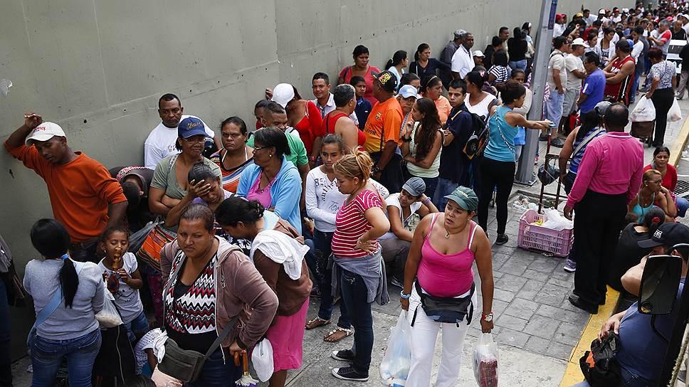 Венесуэла длинных очередей