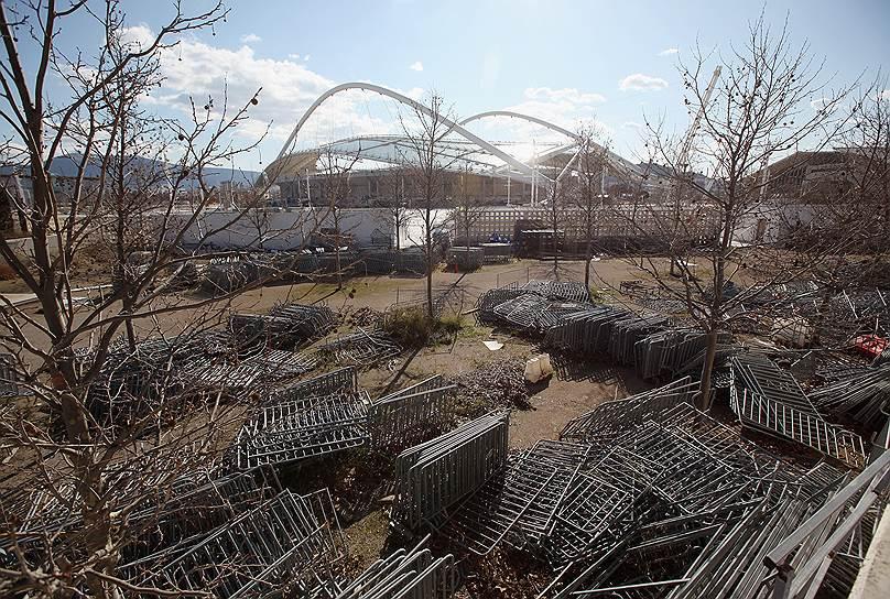 На олимпийском стадионе 2004 года вряд ли когда-нибудь еще пройдут соревнования