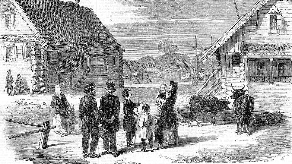 О том, как встретили костромичи известие об освобождении крепостных, написала даже английская Illustrated London News