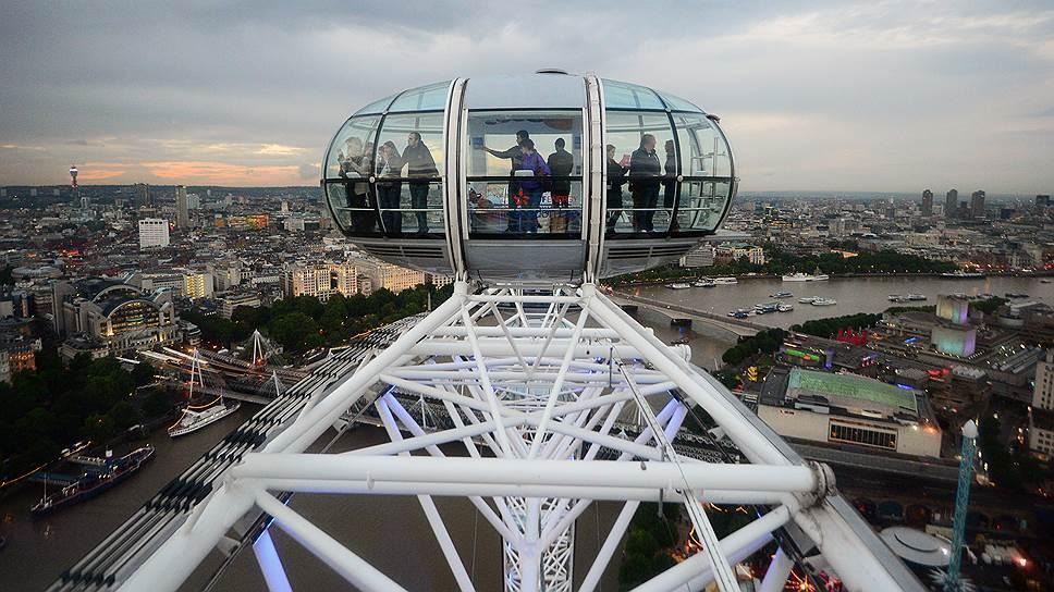Лондон уже не первый год занимает первое место в списке самых популярных у туристов городов мира