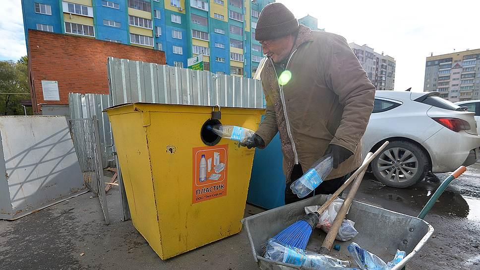 Раздельный сбор мусора массовым явлением пока не стал