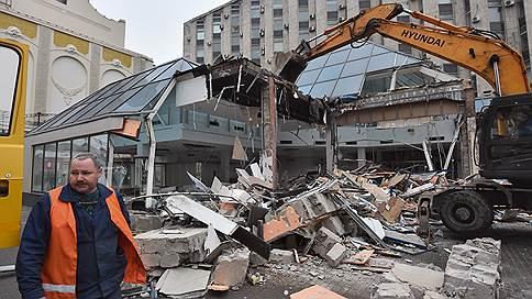 Дамоклов ковш  / Что еще собираются снести в Москве