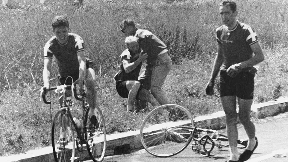 Амфетамин и римская жара сломили датчанина Кнуда Йенсена — при падении с велосипеда он проломил себе череп