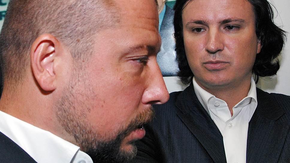 """Бывшие акционеры """"Траста"""" Илья Юров (слева) и Николай Фетисов (справа) заочно арестованы, место их нынешнего проживания остается тайной"""