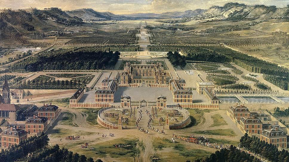 Как европейские монархи мерились дворцами