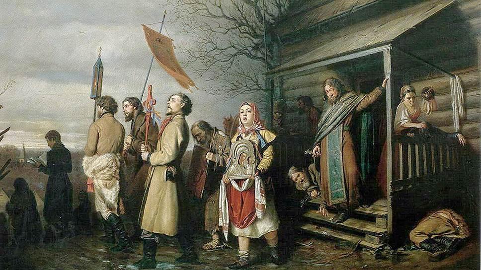 Современники видели в картине Перова не антиклерикальный памфлет, а обличение хорошо всем известной проблемы