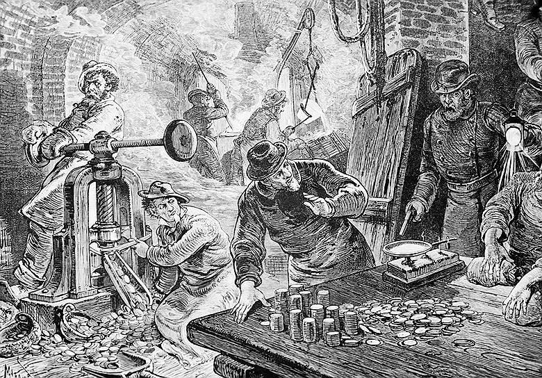 Хотя на каждом долларе имелась надпись о том, что подделка билетов Казначейства карается смертной казнью, полтора века назад каждая третья купюра была фальшивой