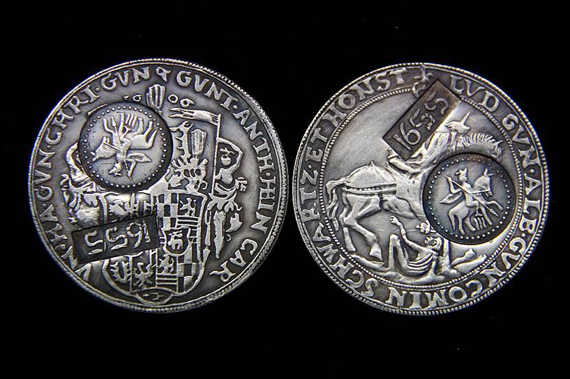 При царе Алексее Михайловиче порча монеты распространилась даже на иностранные деньги