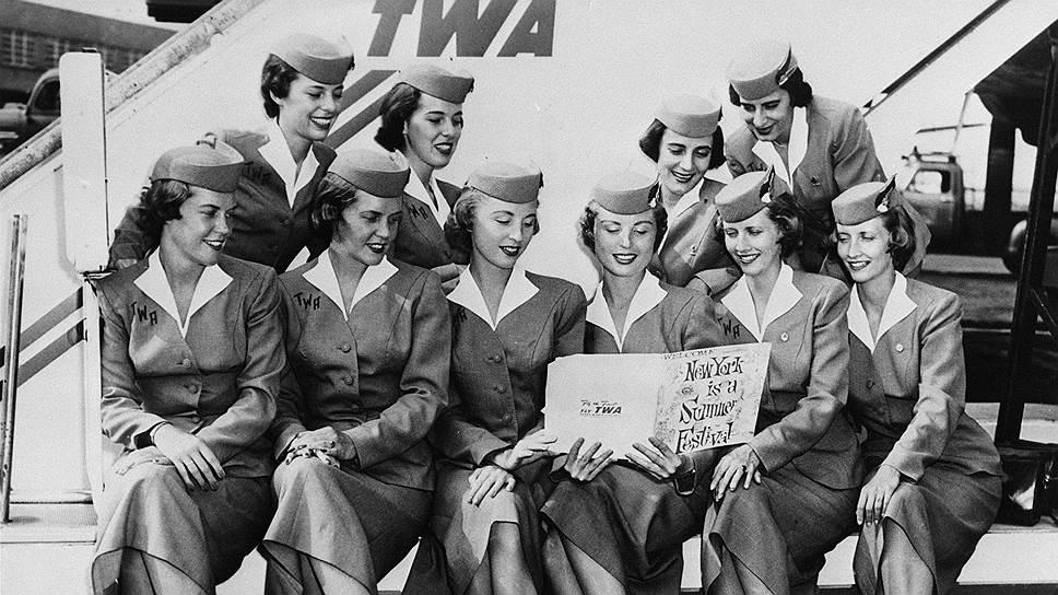 Основанная в 1925 году американская Trans World Airlines могла бы собрать для рекламной акции не пять, а 50 пар хорошеньких стюардесс-близняшек, но от разорения это ее бы все равно не спасло
