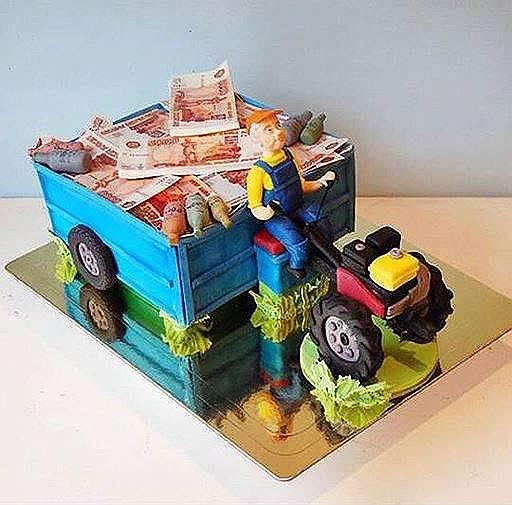 В тортах сегодня можно воплотить не только детские фантазии, но и мечты взрослых (на фото — торт кондитерской Cherry Cake)
