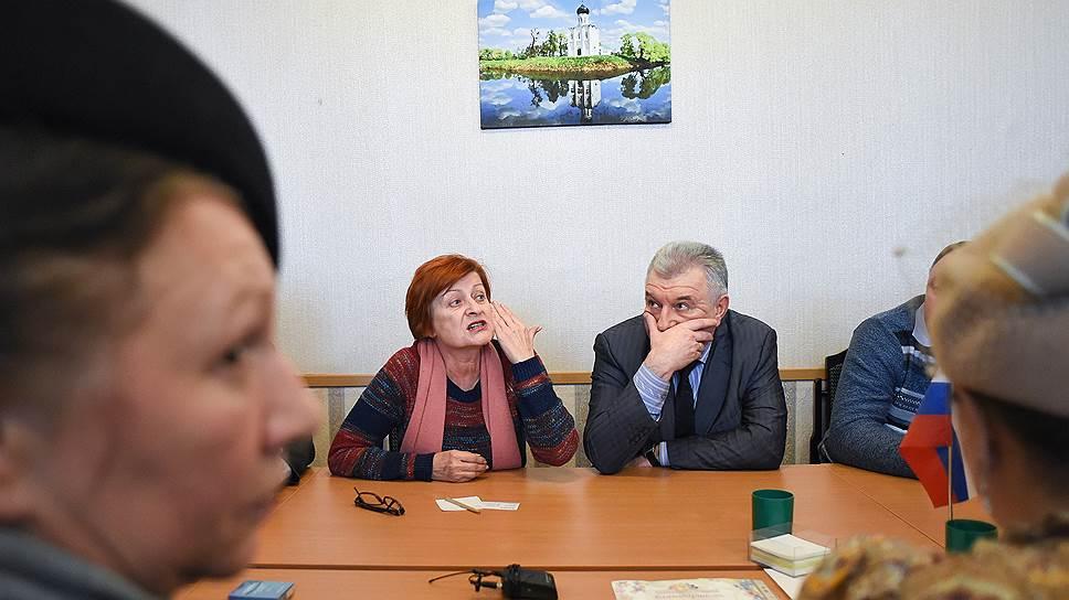 Заместитель главы районной администрации Татьяна Срибная потребовала не угрожать бизнесмену небесными карами