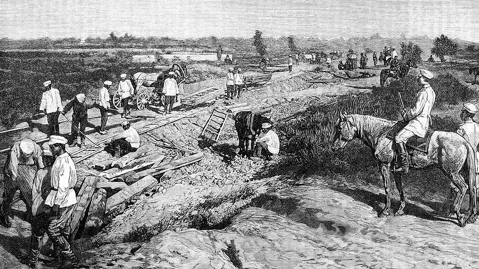 В конце XIX века концессии на строительство железных дорог принесли мздоимцам и лихоимцам многие миллионы рублей