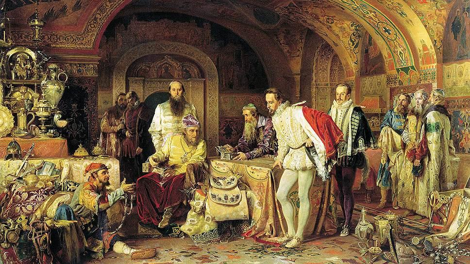Англичанин Джером Гарсей находился в гуще московской жизни. Он мог увлекательно рассказывать и о сокровищах, которые показывал ему Иван Грозный, и о смерти московского царя