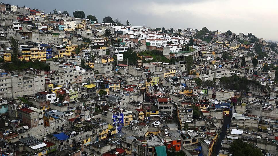 Около половины населения Мексики — за чертой бедности, а самое распространенное жилье — трущобного типа