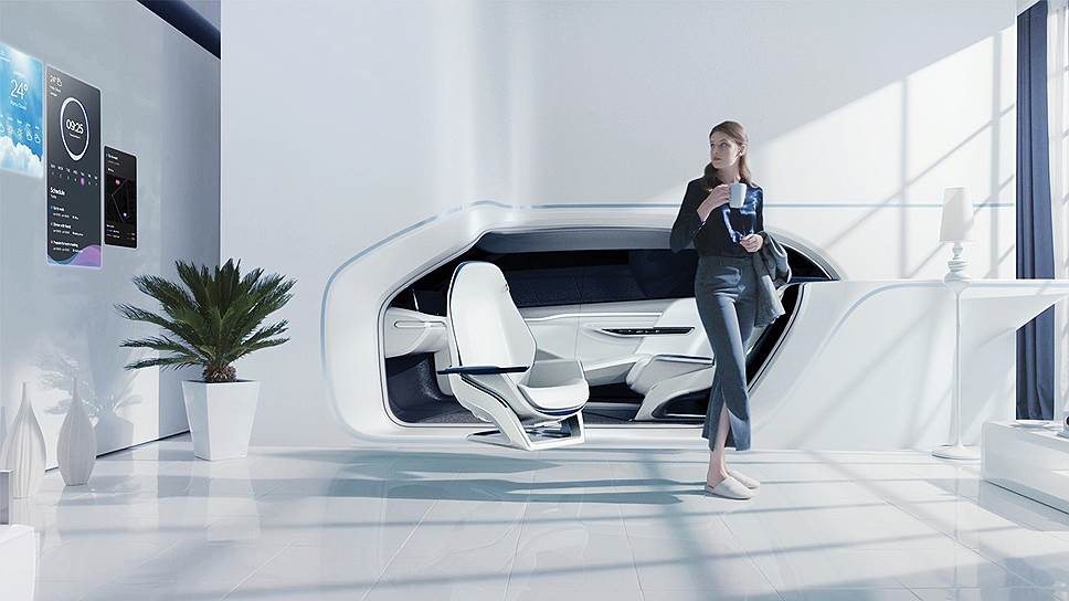 Hyundai Mobile Vision — абсолютная новинка из мира умных вещей: гибрид дома и автомобиля