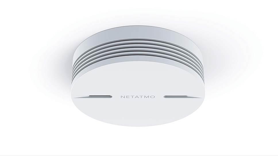 Противопожарная система Netatmo Smart Smoke Alarm реагирует не только на дым, но и на пар — любителям «парящих» устройств следует иметь это в виду