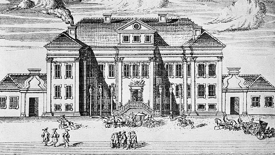 Самый первый Зимний дворец, построенный Петром, оказался мал и был перестроен