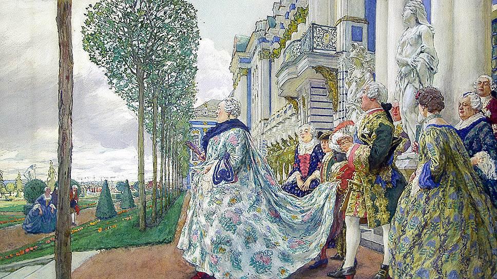 Дворец в Царском Селе был одной из трех огромных резиденций, которые одновременно строила Елизавета Петровна