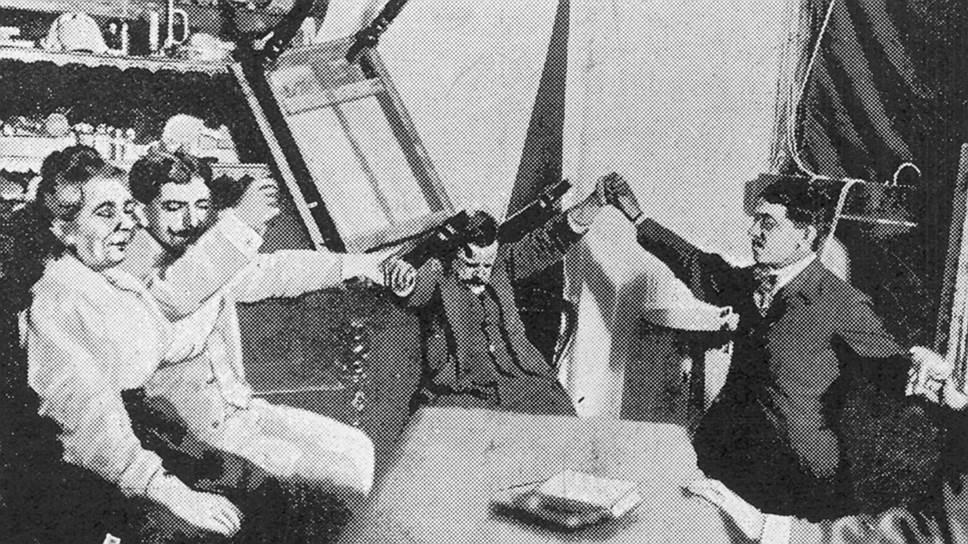 Массовое увлечение спиритизмом захлестнуло США после Первой мировой войны