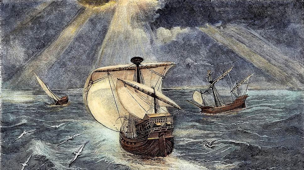 Испанские каравеллы — это звездолеты XV века