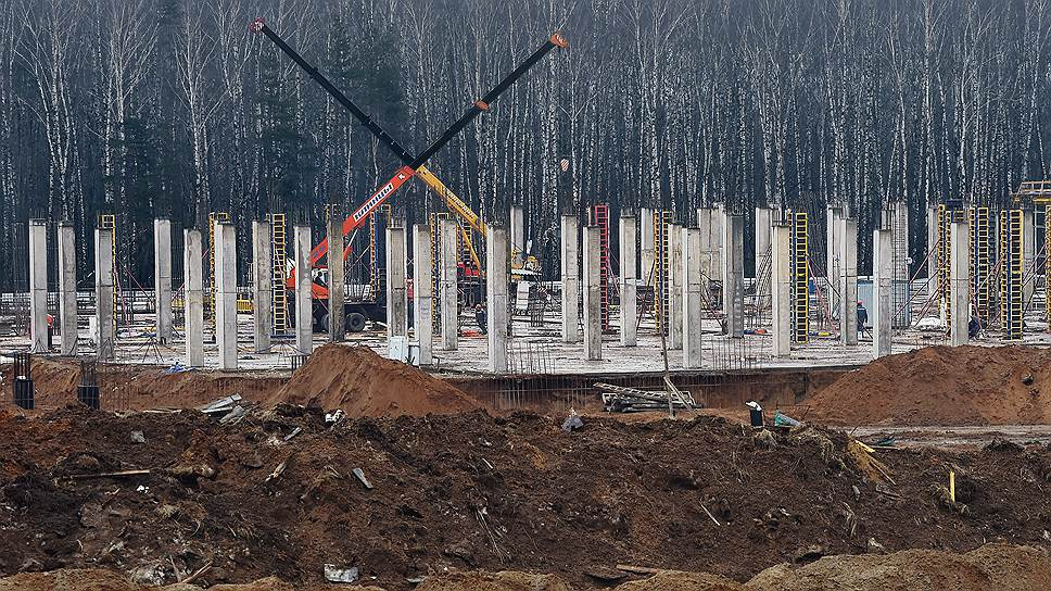 Торгово-развлекательный центр группа «Ташир» строит на участке, входящем в охранную зону «Лосиного острова»