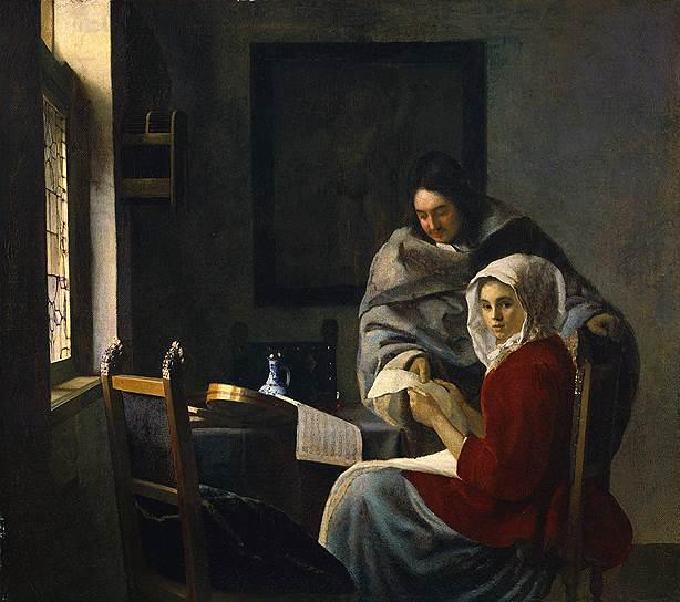 «Прерванный урок музыки» Вермеера — одно из первых полотен почти забытого на тот момент художника, приобретенное Фриком