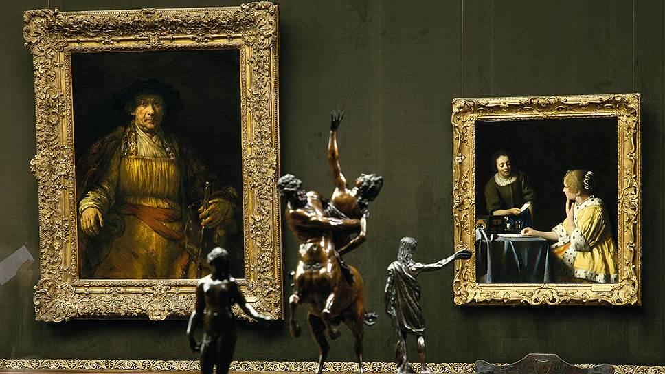 Среди шедевров коллекции — автопортрет Рембрандта