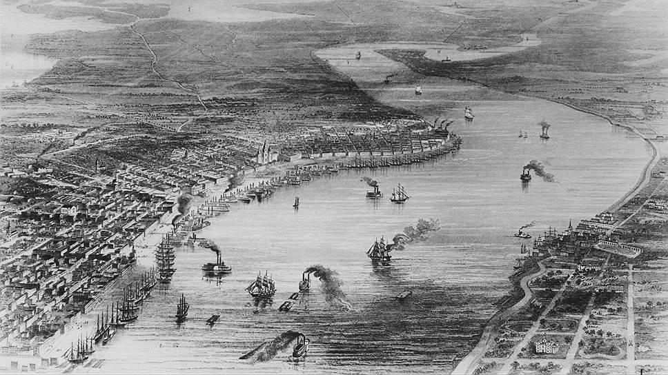 Чтобы расплатиться с многочисленными кредиторами, Поллок был вынужден продать все свое имущество, включая земли на реке Миссисипи