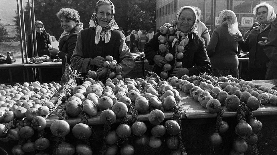 Приусадебное хозяйство для пожилых крестьян почти всегда было единственным спасением от бедности