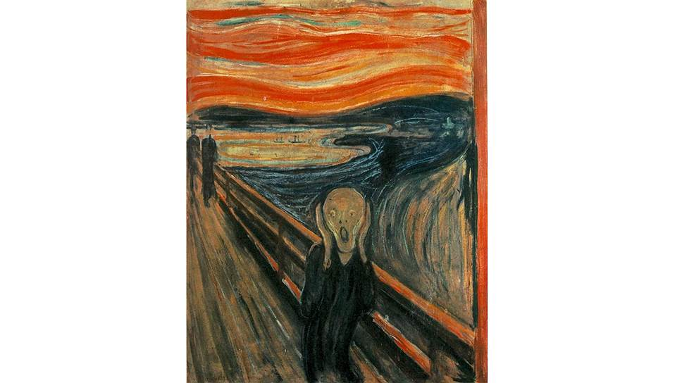 """""""Крик"""" Эдварда Мунка: картина, ставшая символом депрессивного состояния, была создана страдающим душевным расстройством художником"""