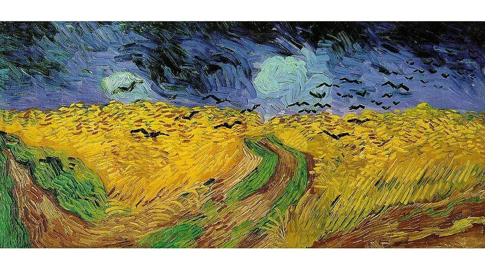 """""""Пшеничное поле с воронами"""" Винсента Ван Гога: последняя картина художника, написанная за неделю до самоубийства"""
