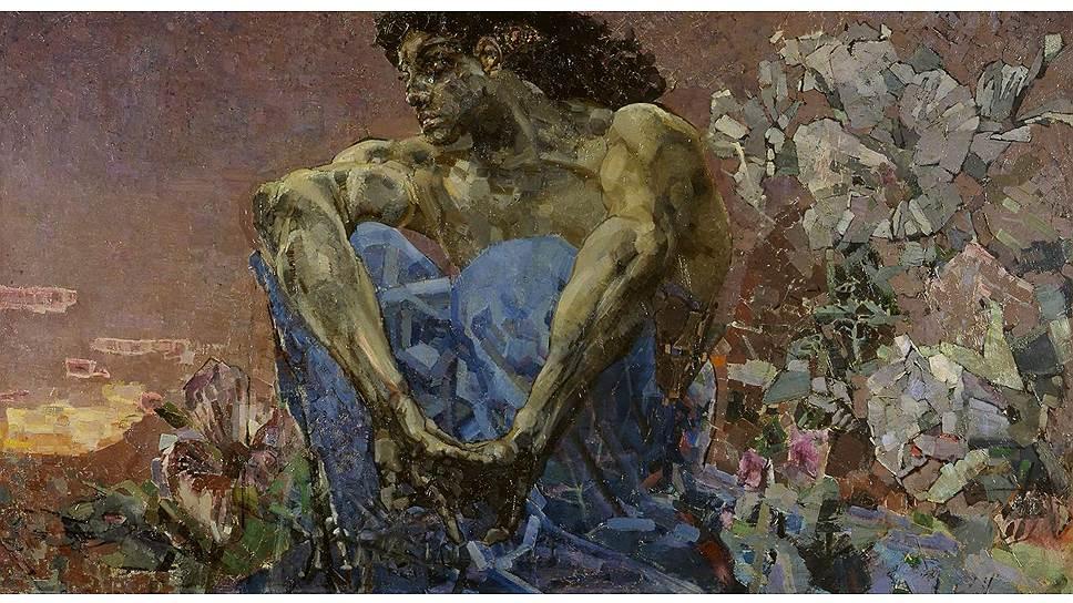 """""""Демон сидящий"""" Михаила Врубеля: всю жизнь страдавший психическим расстройством художник одну из самых известных своих картин создал в период острого душевного кризиса, вызванного несчастной любовью"""