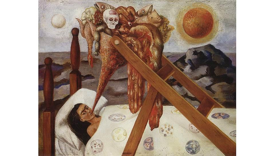 """""""Без надежды"""" Фриды Кало: полученные в юности тяжелые травмы и последующие физические и душевные страдания для художницы стали мотивами ее творчества"""
