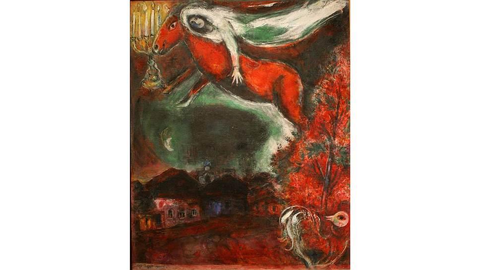 """""""Ноктюрн"""" Марка Шагала: разные периоды творчества """"художника цвета"""", как назвал его Пикассо, были связаны в том числе с его душевным состоянием"""