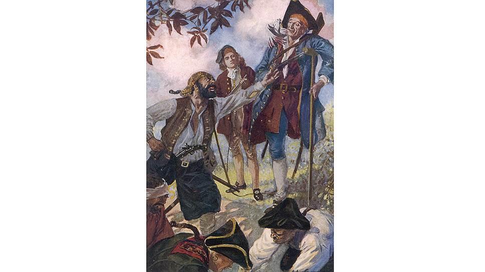 """После раздела золота из """"сундука мертвеца"""" каждому пирату могла достаться сумма, которой хватало лишь """"на еду и выпивку"""""""