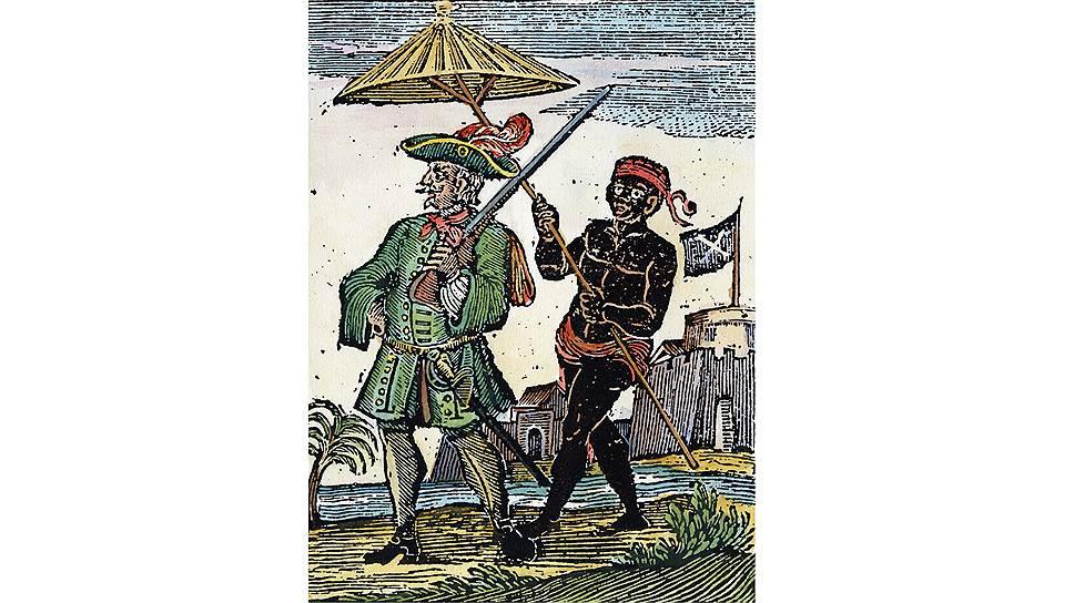 """При удачном стечении обстоятельств пираты могли """"заработать"""" очень много: например, в 1695 году пиратские корабли Генри Эвери захватили добычу стоимостью £600 тыс."""