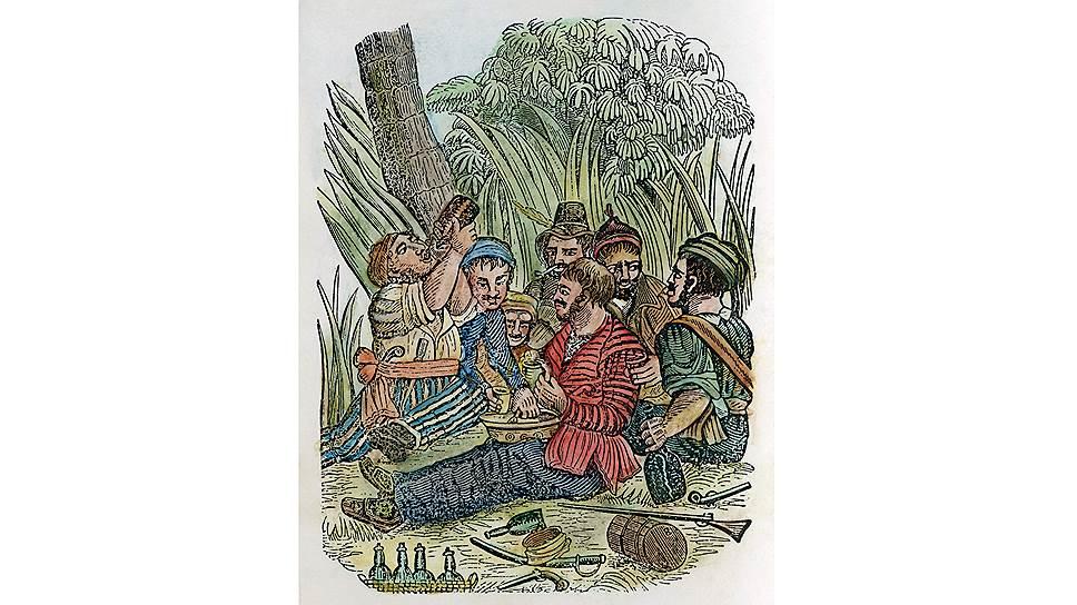 Ром — главное горючее пирата — в странах Карибского бассейна стоил 4,4 пенса за литр