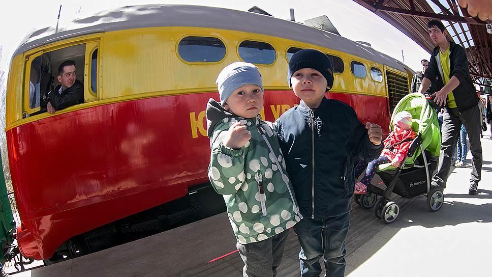 В России работает 25 детских железных дорог