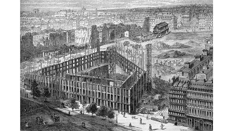 """Большинство зданий, сегодня определяющих облик Парижа, были построены во время """"османизации"""""""