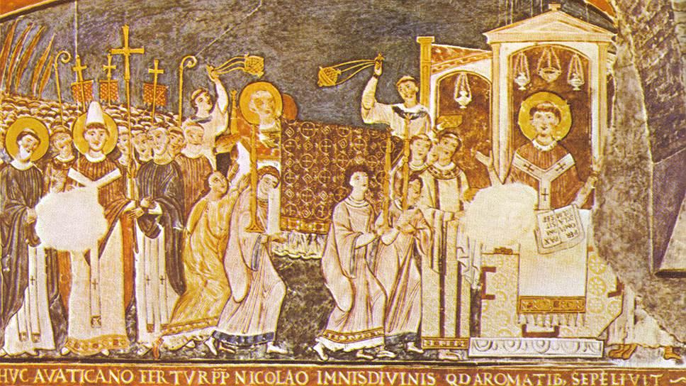 Человек, который принес в Рим мощи одного из первых пап, приобретал огромный авторитет, так что славянская письменность обязана папским благословением мощам Климента IV