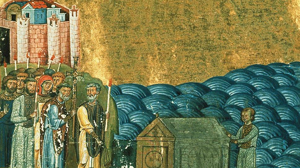 Во время одного из миссионерских путешествий Константин оказался в Херсонесе (ныне район Севастополя), где обнаружил мощи Климента, четвертого римского папы, и взял их с собой