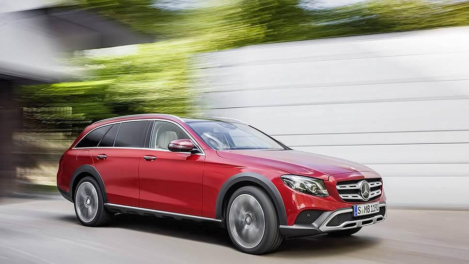 Mercedes-Benz включилась в борьбу в этом сегменте недавно: модель E-class All Terrain появилась в 2016 году. Единственная модификация на нашем рынке — с двухлитровым турбодизелем мощностью 195 л. с. по цене от 3,990 млн руб.