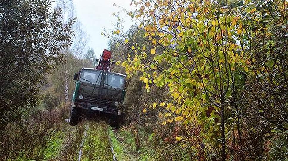 После ликвидации ж/д линии ездить за ягодами жителям деревни Цевло стало не на чем