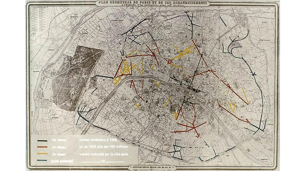 Париж нуждался в реконструкции давно, но до середины XIX века на нее не находилось средств