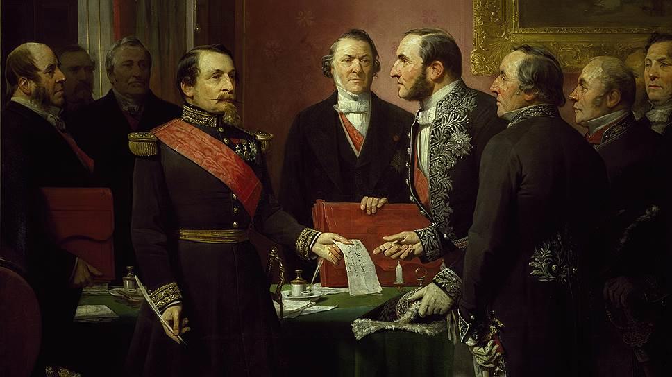 Наполеон III (слева), мечтавший превратить Париж в Лондон, в лице барона Османа (справа) нашел верного и энергичного союзника