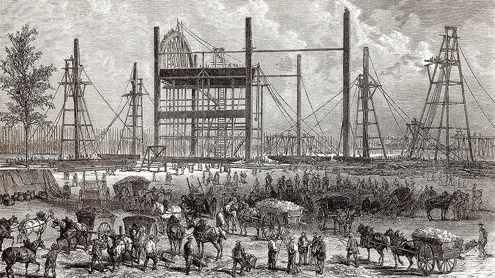 Выставка 1855 года стала поводом для коренной реконструкции Парижа