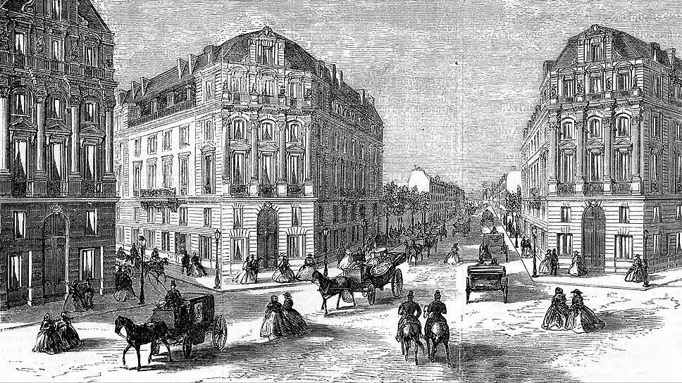 Бульвары прокладывались «по живому» — без колебаний сносились все здания, стоящие на пути
