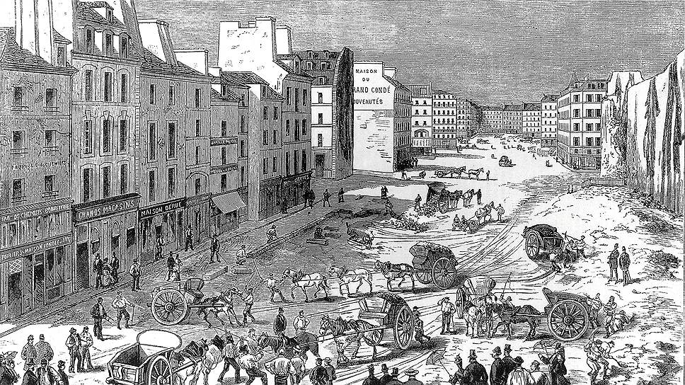 20 лет парижане жили среди котлованов и строящихся зданий