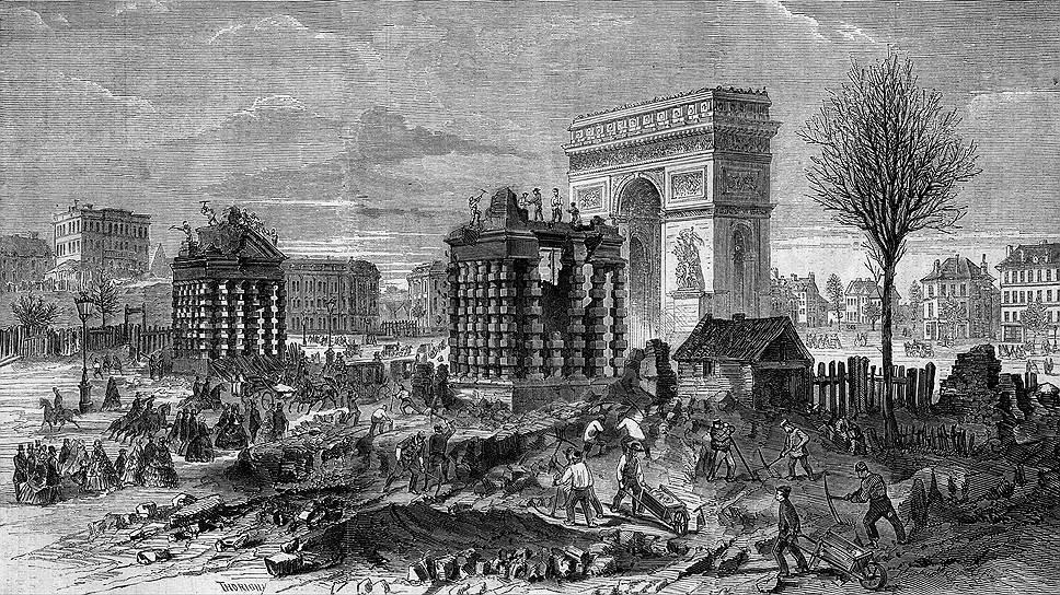 Париж, разрушенный Османом